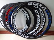 China Replacement Carbon Fiber Carbon Bicycle Rims / Cycle Carbon Clincher Rim 700c 50mm company