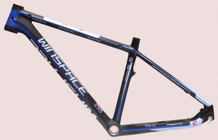 29er 27.5 Mountain Bike Frame Carbon Fiber Color Painting Personal Customization