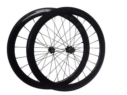 Full Carbon Road Bike Wheelset 50mm Clincher Tubular Superlight 1350g Weight